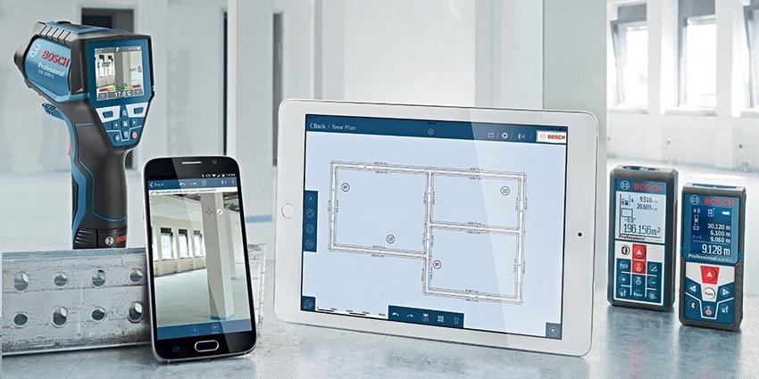 Digitálna meracia technika Bosch