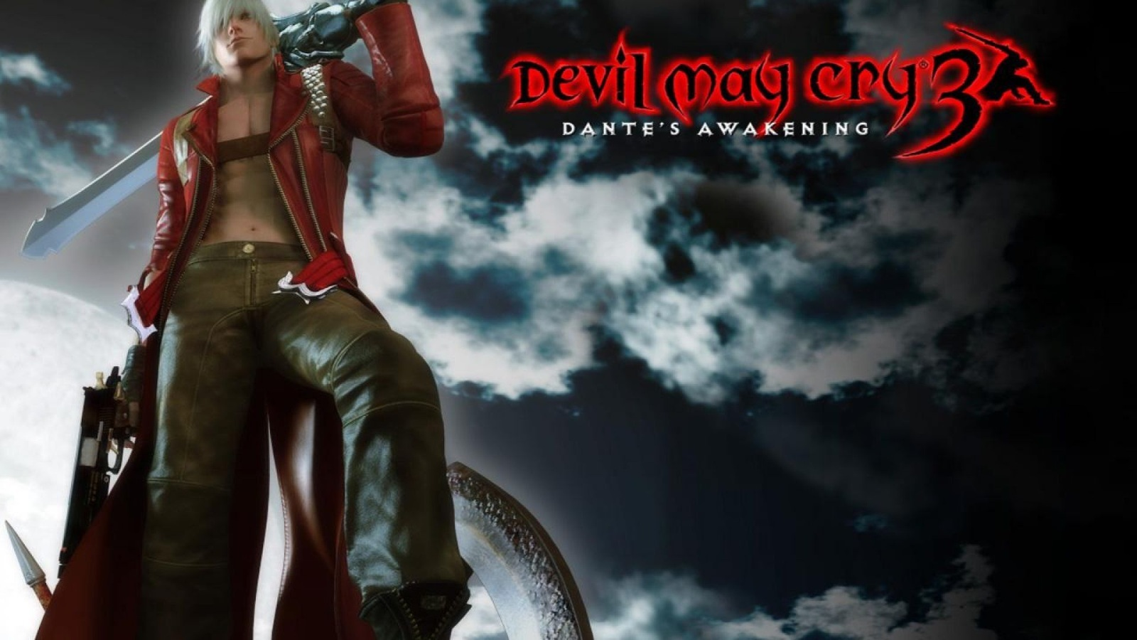 Devil May Cry; Devil May Cry 3: Dante's Awakening (2005): logo, cover