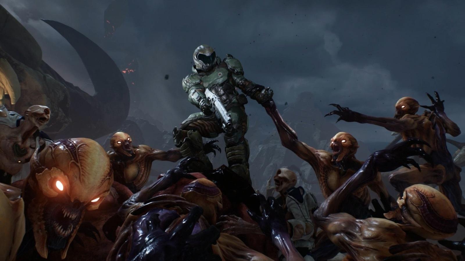 Doom Eternal; screenshot: horda