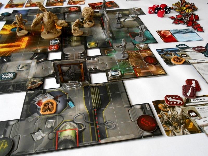 Doskové hry podľa počítačových predlôh; screenshot: Doom