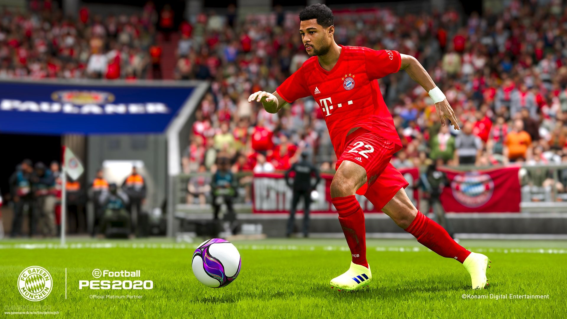 eFootball PES 2020; screenshot: Gnarby