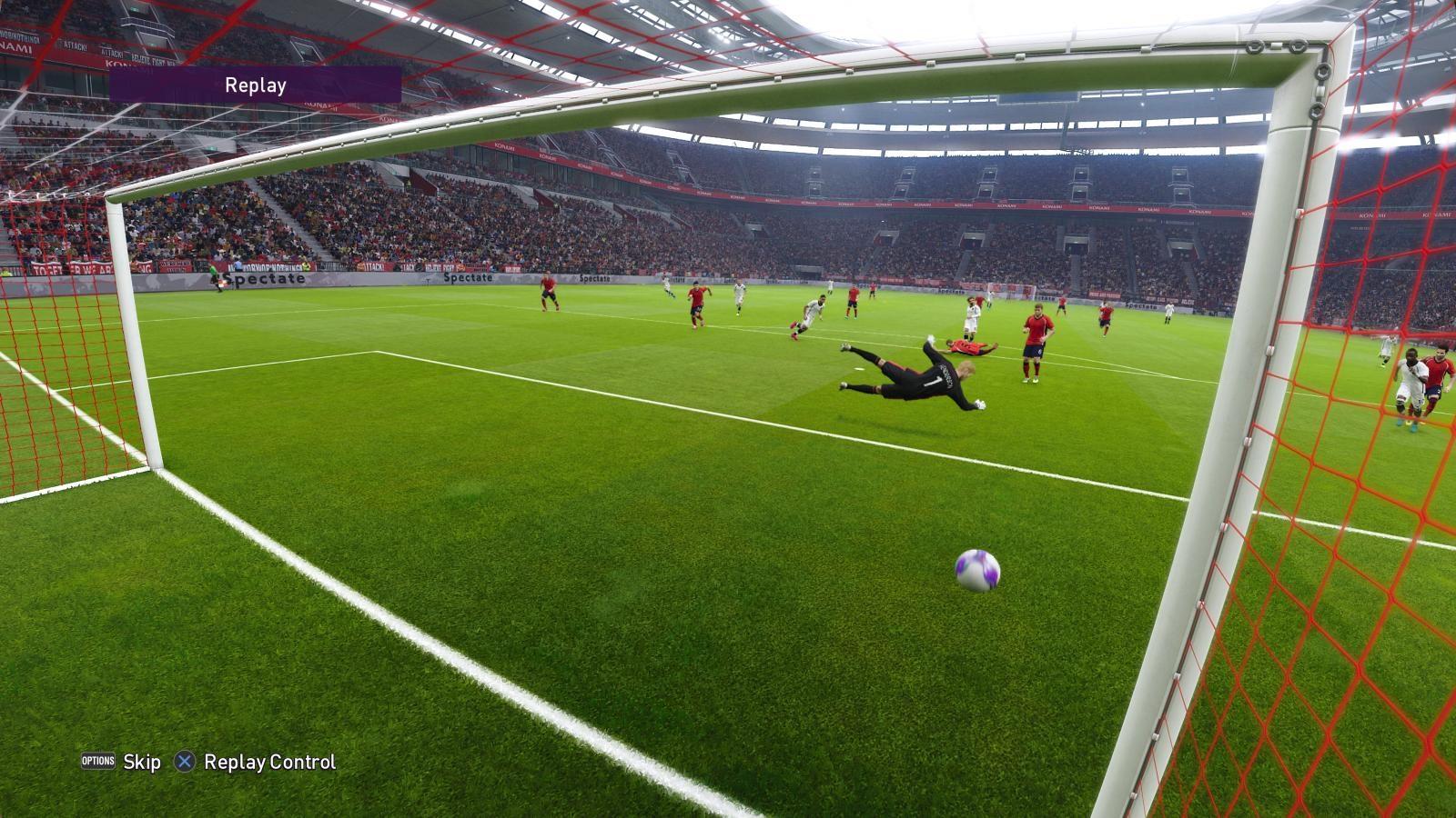 eFootball PES 2020; gameplay: gól