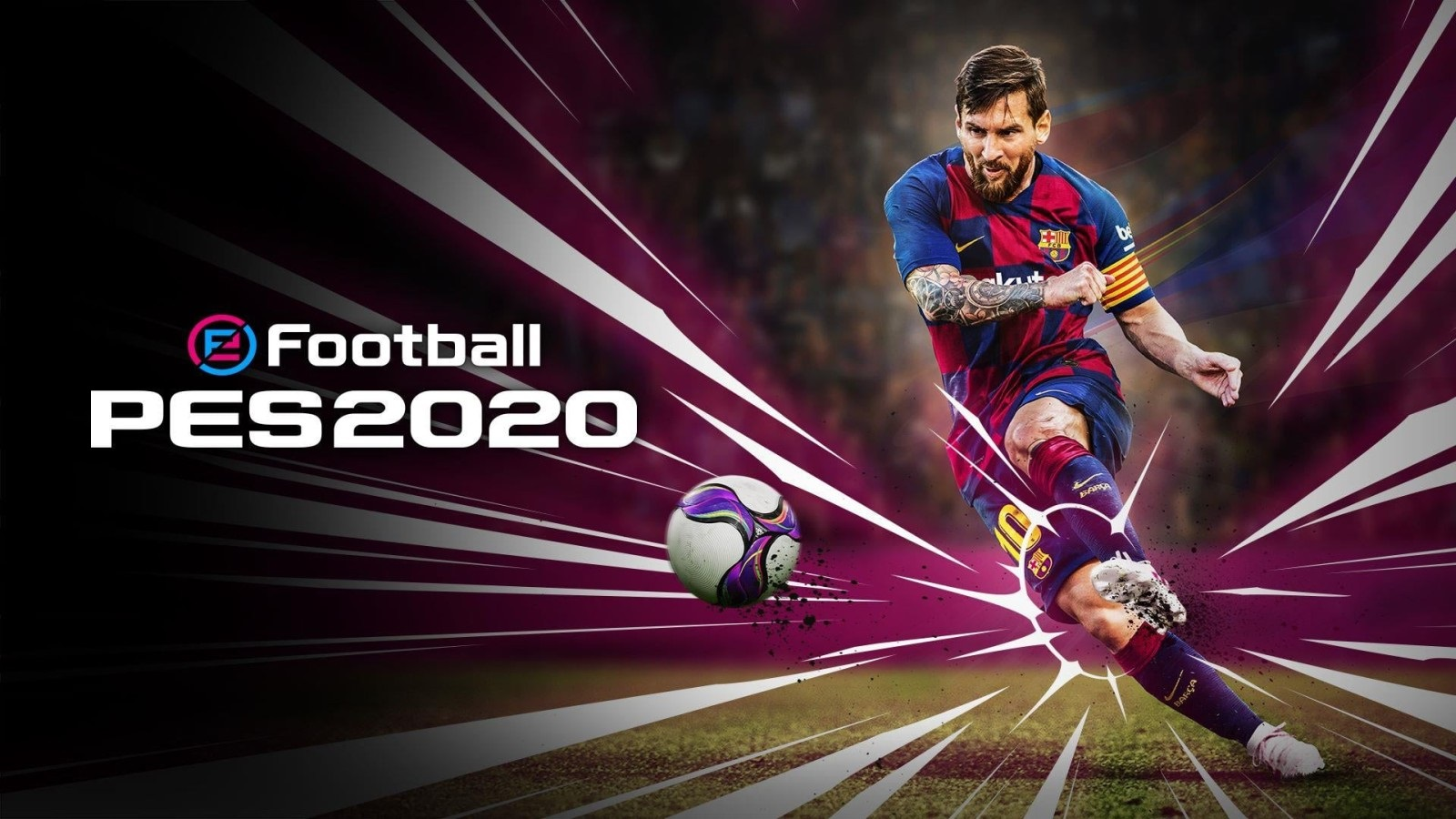 eFootball PES 2020; wallpaper: cover