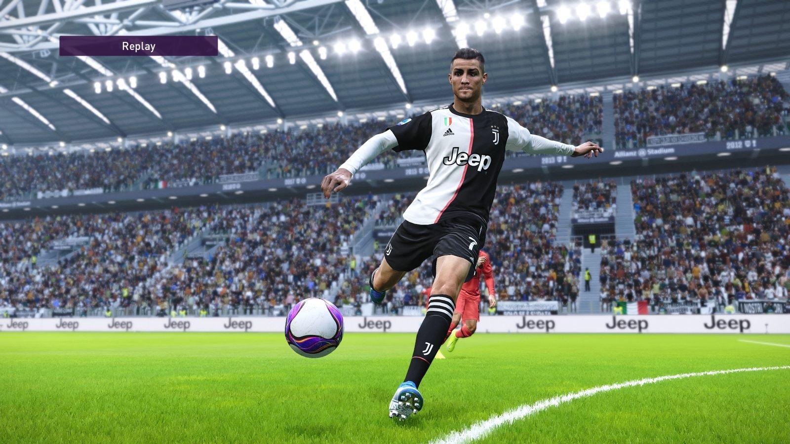 eFootball PES 2020; gameplay: Ronaldo