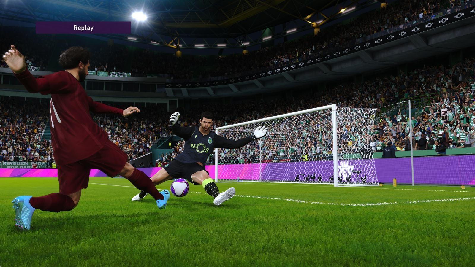 eFootball PES 2020; gameplay: Salah