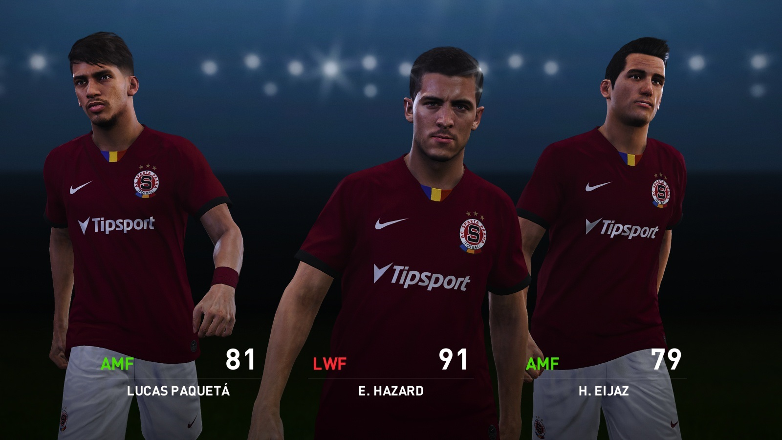 eFootball PES 2020; gameplay: Sparta