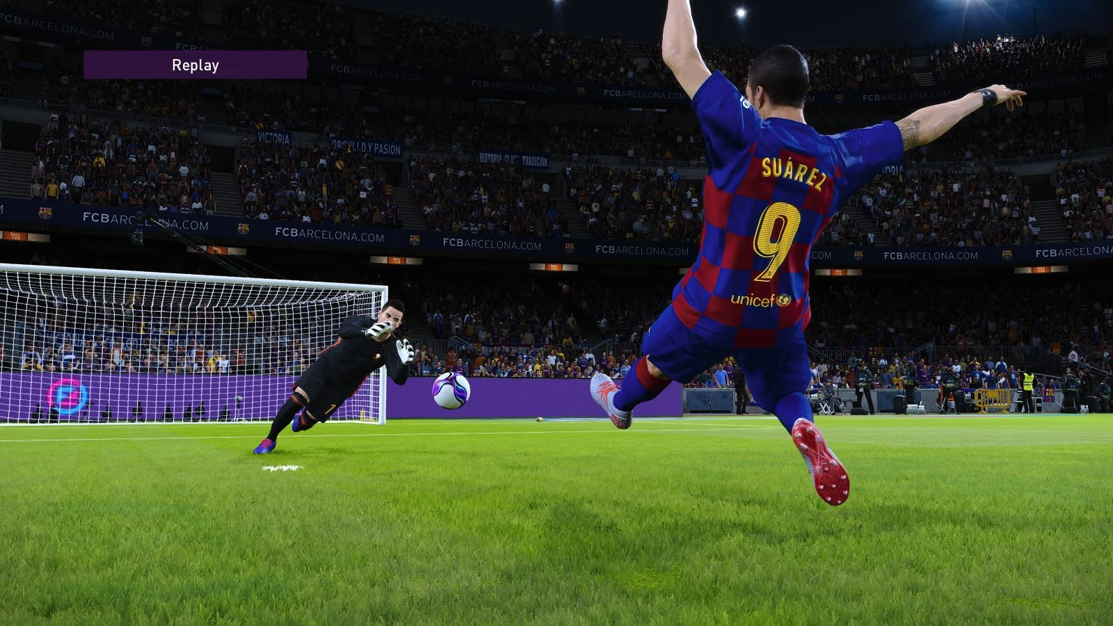 eFootball PES 2020; gameplay: Suaréz