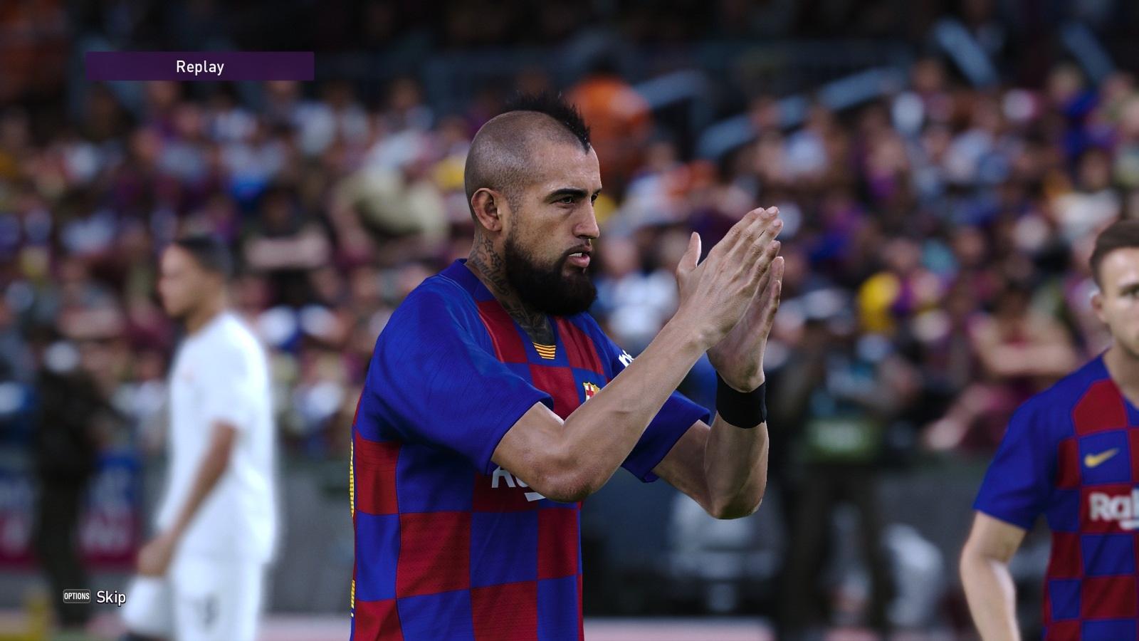 eFootball PES 2020; gameplay: Vidal