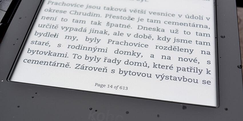 Elektronická čítačka kníh