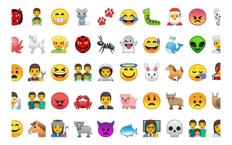 Android 8.0 Oreo; emoji