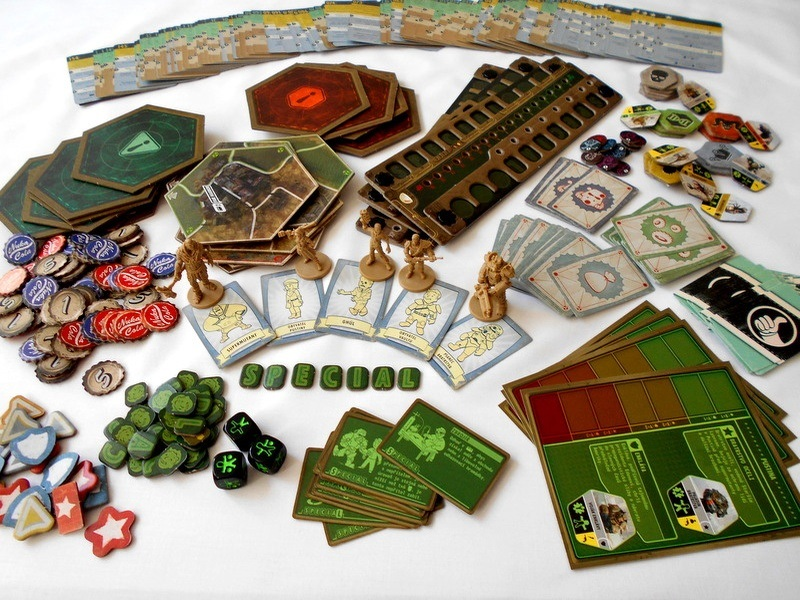 Doskové hry podľa počítačových predlôh; screenshot: Fallout