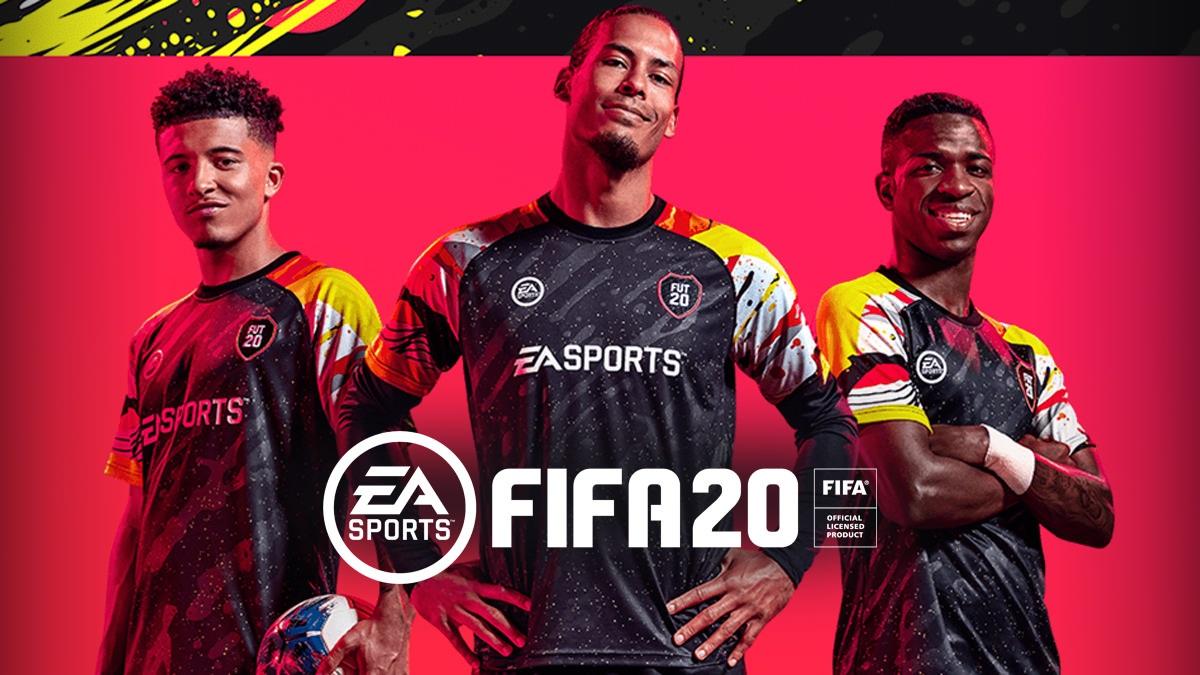 FIFA 20; screenshot: cover