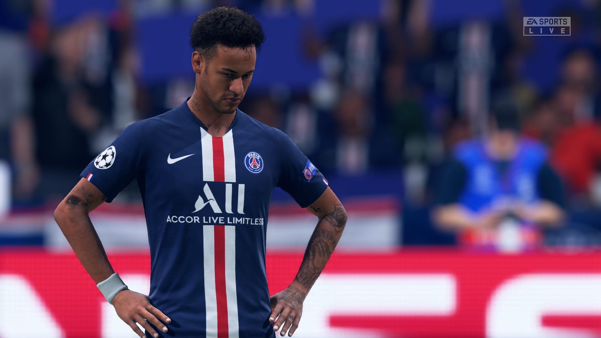 FIFA 20; gameplay: Neymar