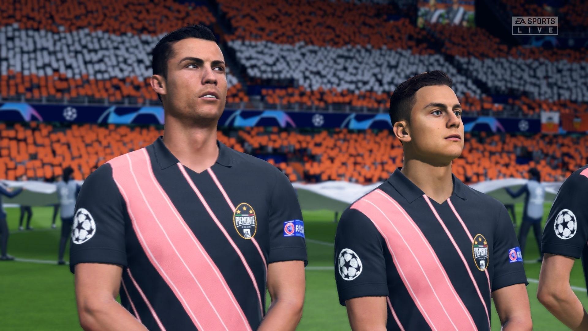 FIFA 20; gameplay: Ronaldo