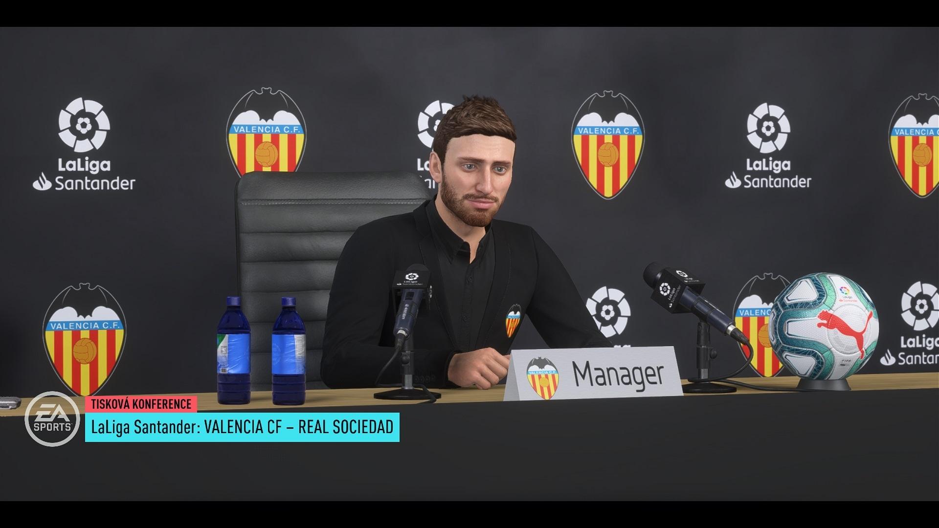 FIFA 20; gameplay: tlačovka