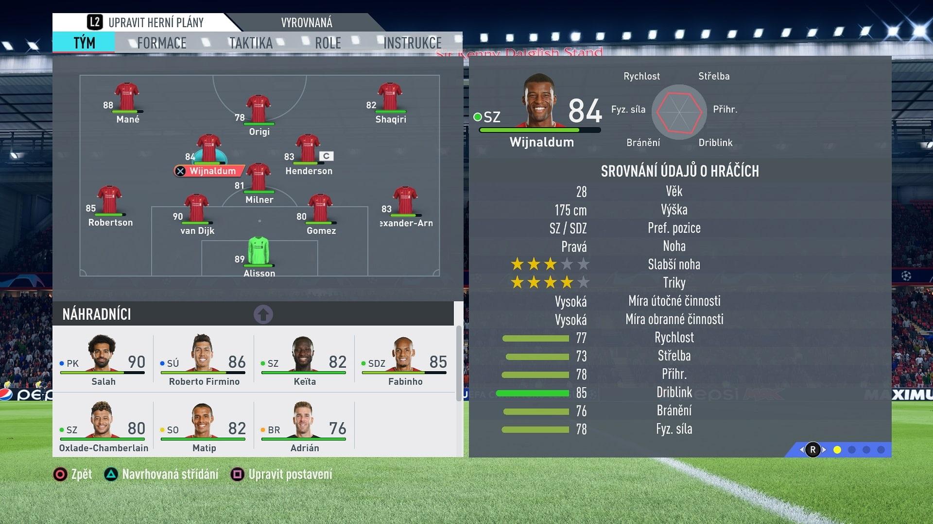 FIFA 20; gameplay: údaje