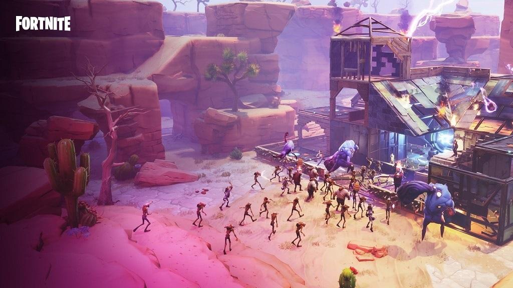 Fortnite, gameplay, season 5 – Challenge the Horde