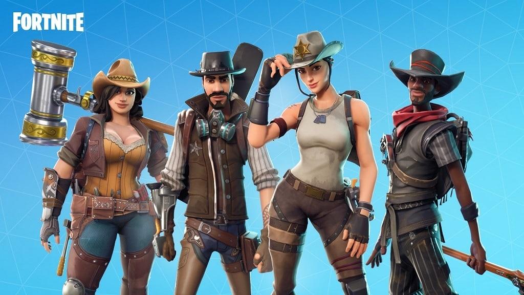 Fortnite, gameplay, season 5 – hrdinovia