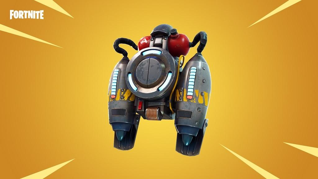 Fornite; update, jetpack