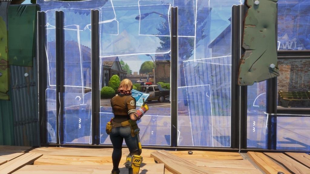 Fortnite; Wallpaper: obrana, výstavba