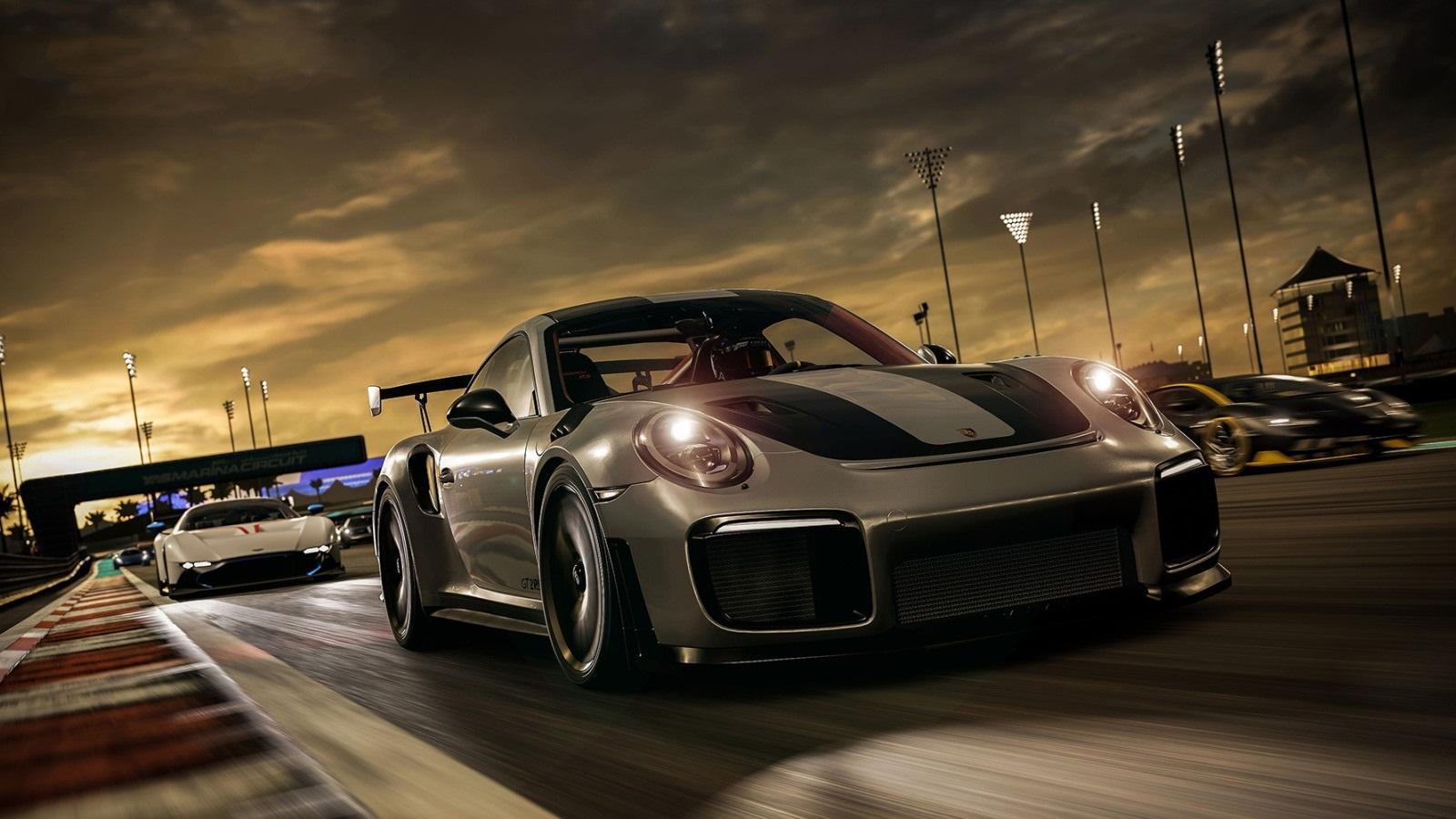 Forza Motorsport 8; wallpaper: porsche