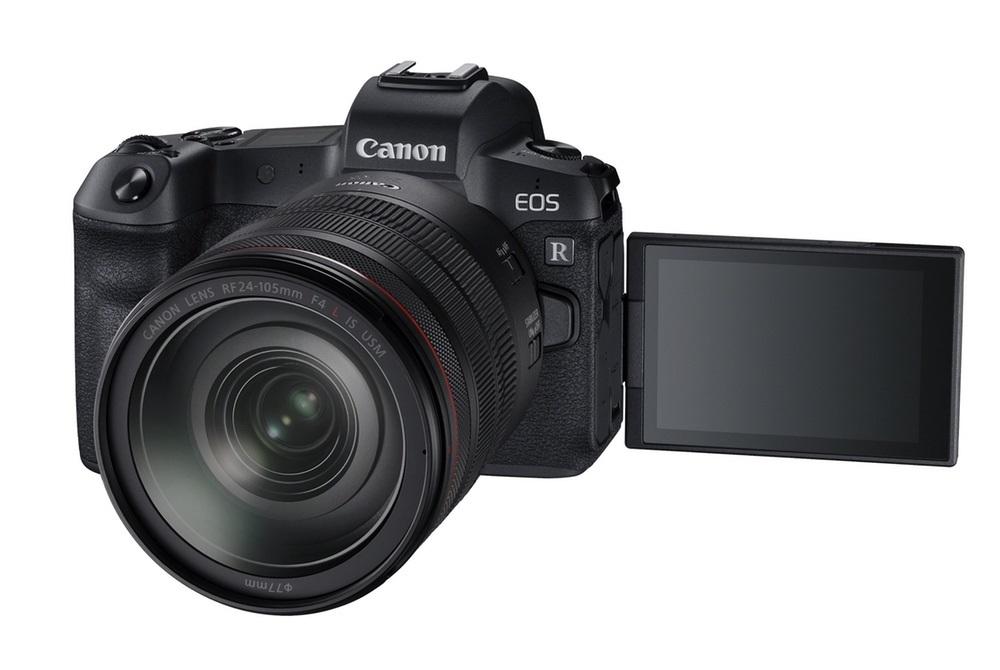 Fotoaparát Canon EOS R, displej
