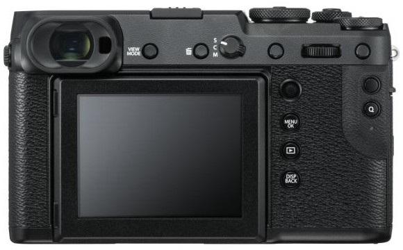 Fujifilm GFX 50R, zozadu