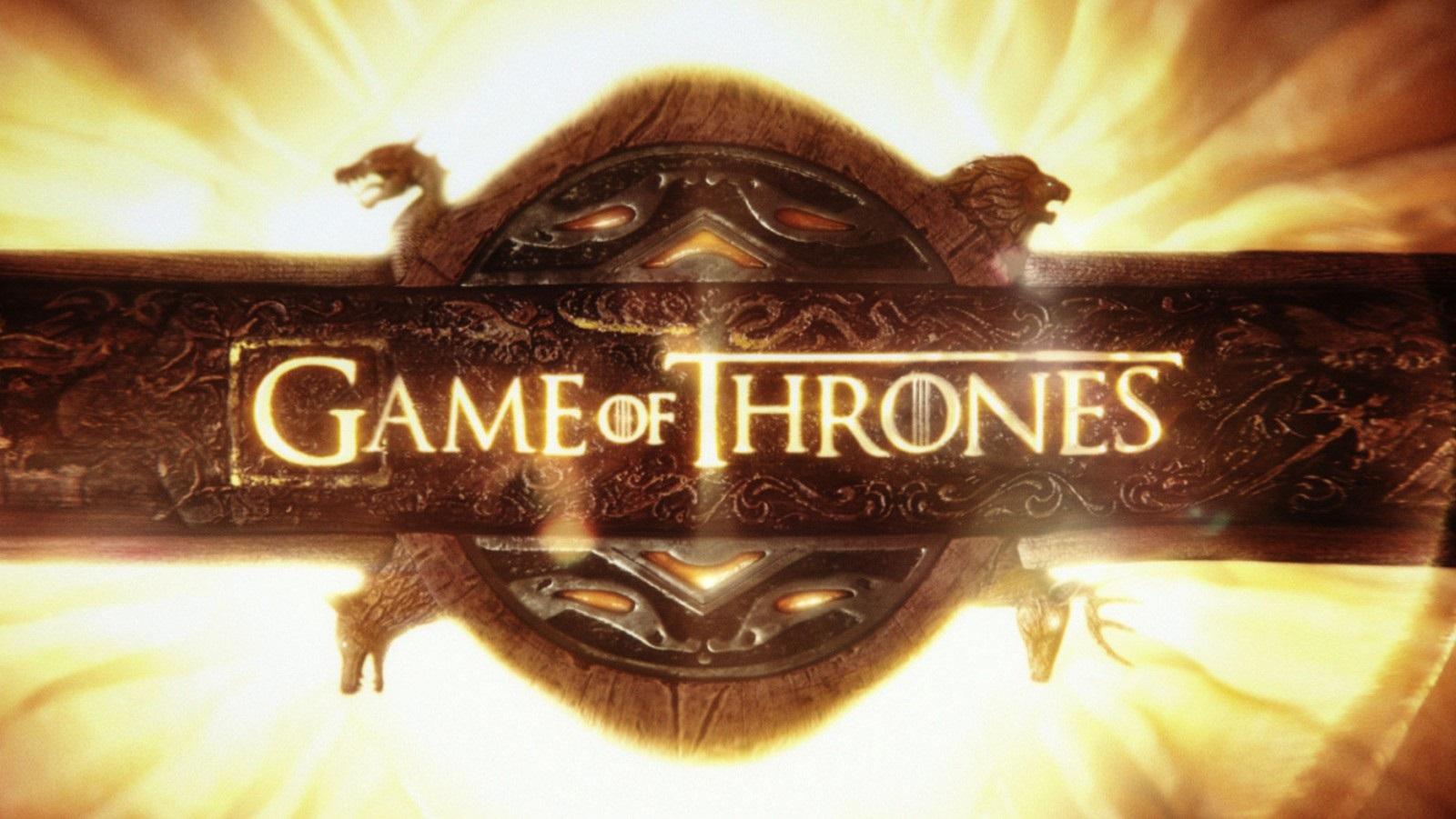Game of Thrones; screenshot: logo