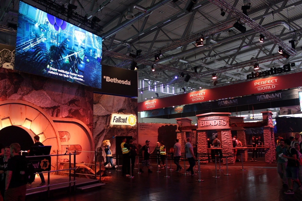Gamescom 2018; Bethesda
