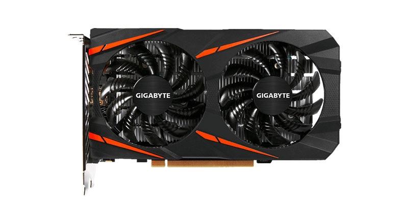 Gigabyte RX 560 Gaming OC 4G v testoch