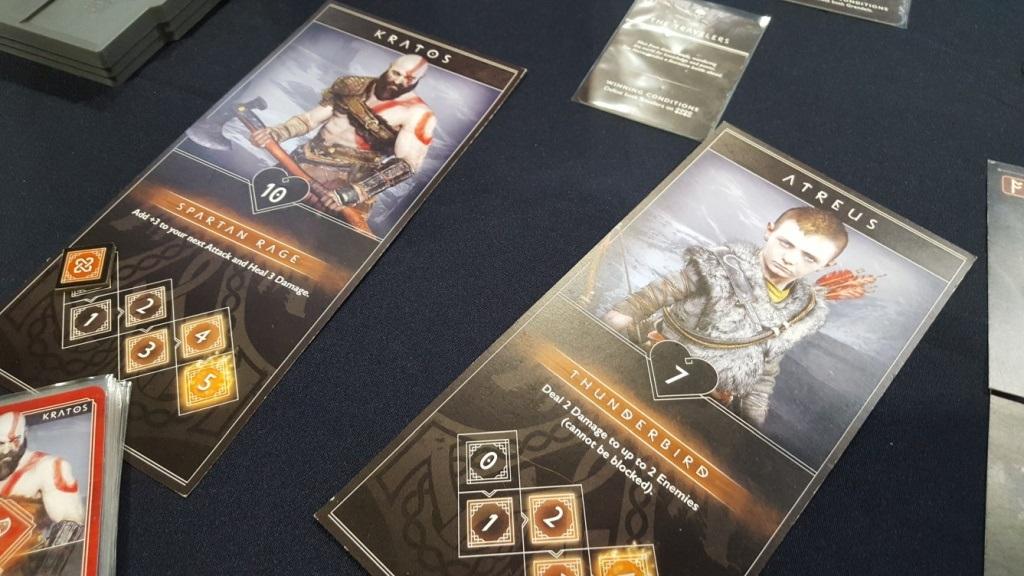 Doskové hry podľa počítačových predlôh; screenshot: God of War