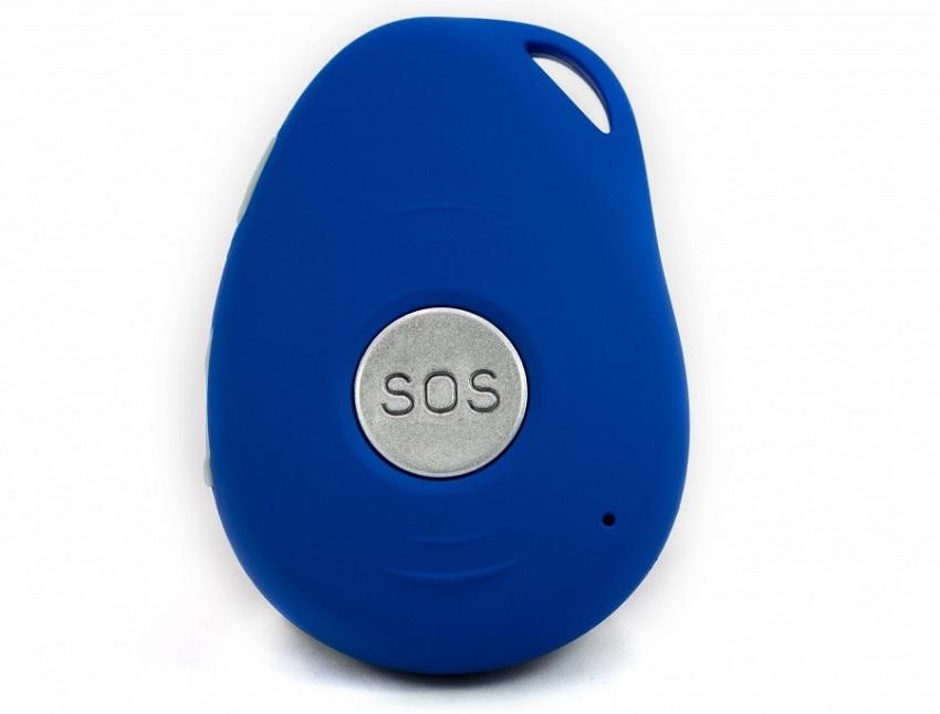 GPS lokátor; SOS tlačidlo