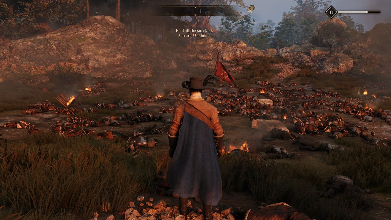 GreedFall; gameplay: bojové pole