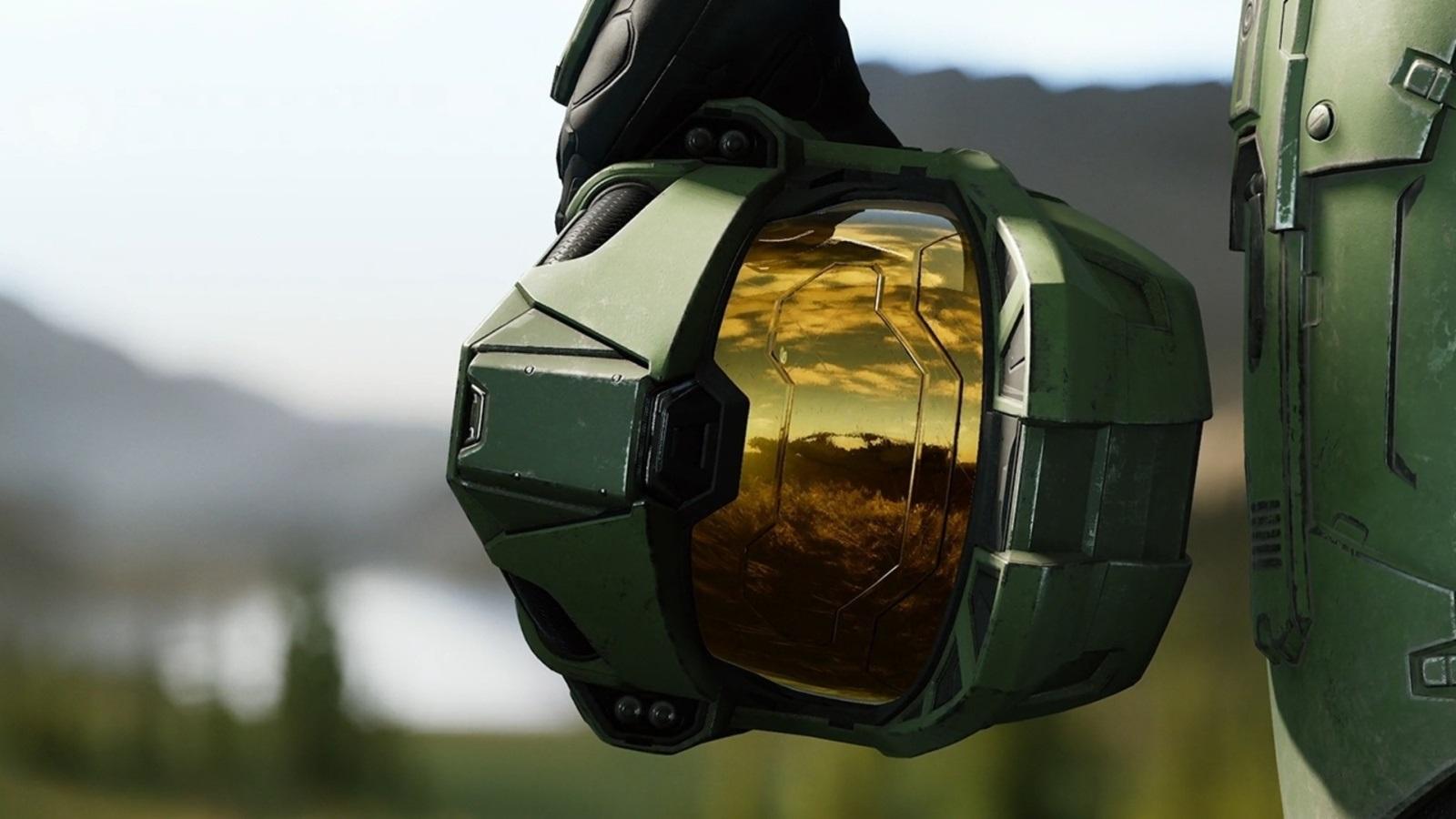 Halo: Infinite; wallpaper: Master Chief