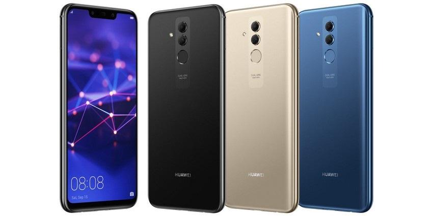 Huawei Mate 20 Lite, barvy