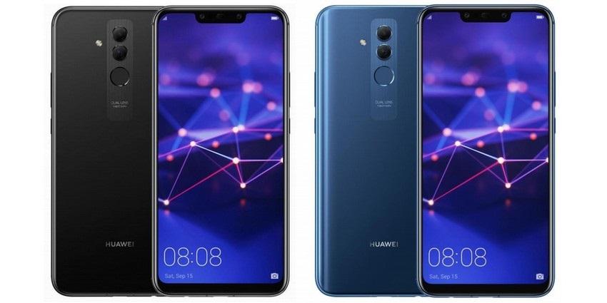 Huawei Mate 20 Lite, čierna, modrá