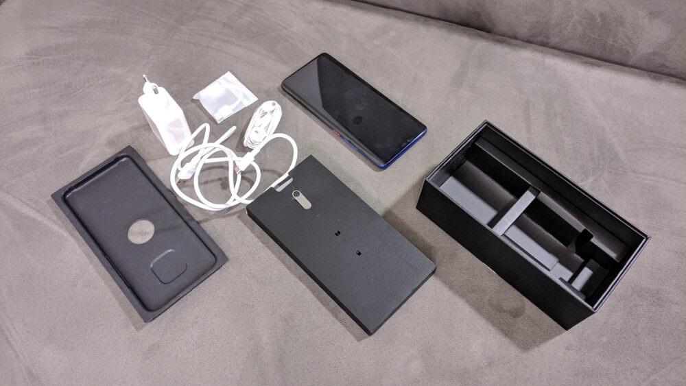 Huawei Mate 20 Pro, recenzia, obsah balenia