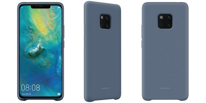 Render puzdra nového telefónu Huawei Mate 20 Pro