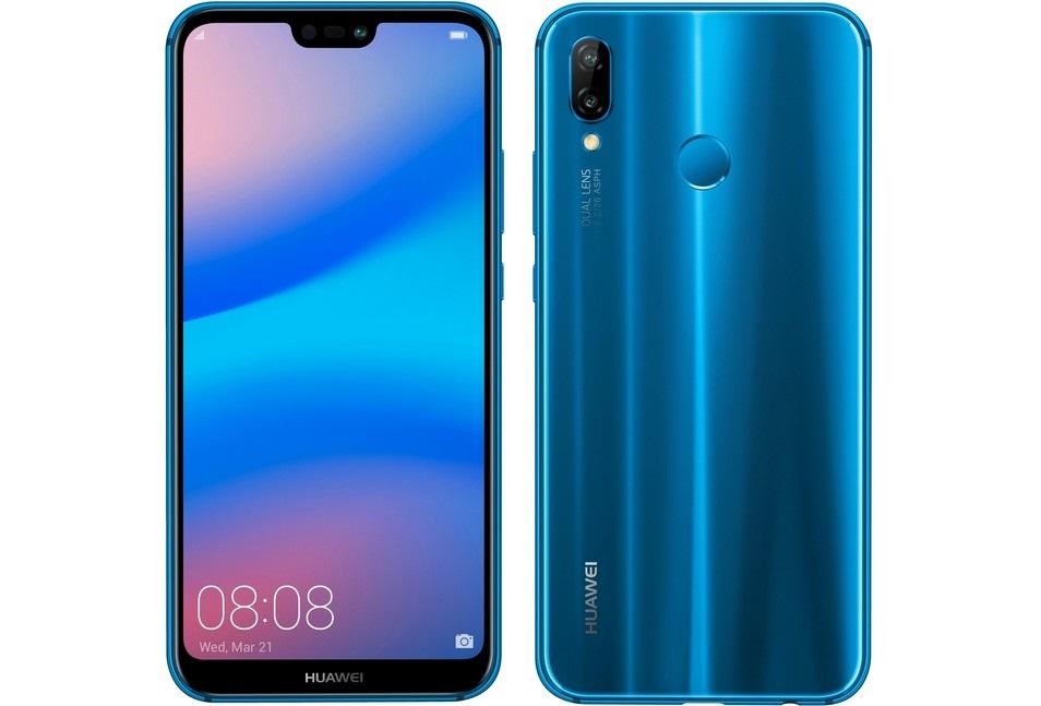 Huawei P20 Lite, modrá farba