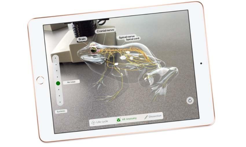 iPad 2O18, AR