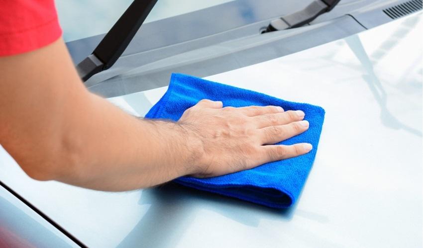 Ako umyť auto – sušenie