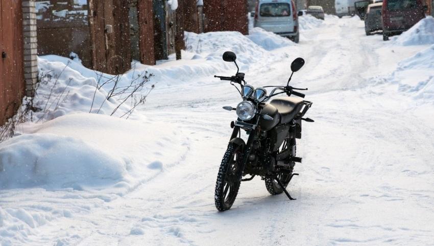 Jazda na motorke v zime