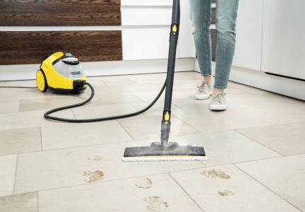 Parné čističe KÄRCHER pre domov bez baktérií