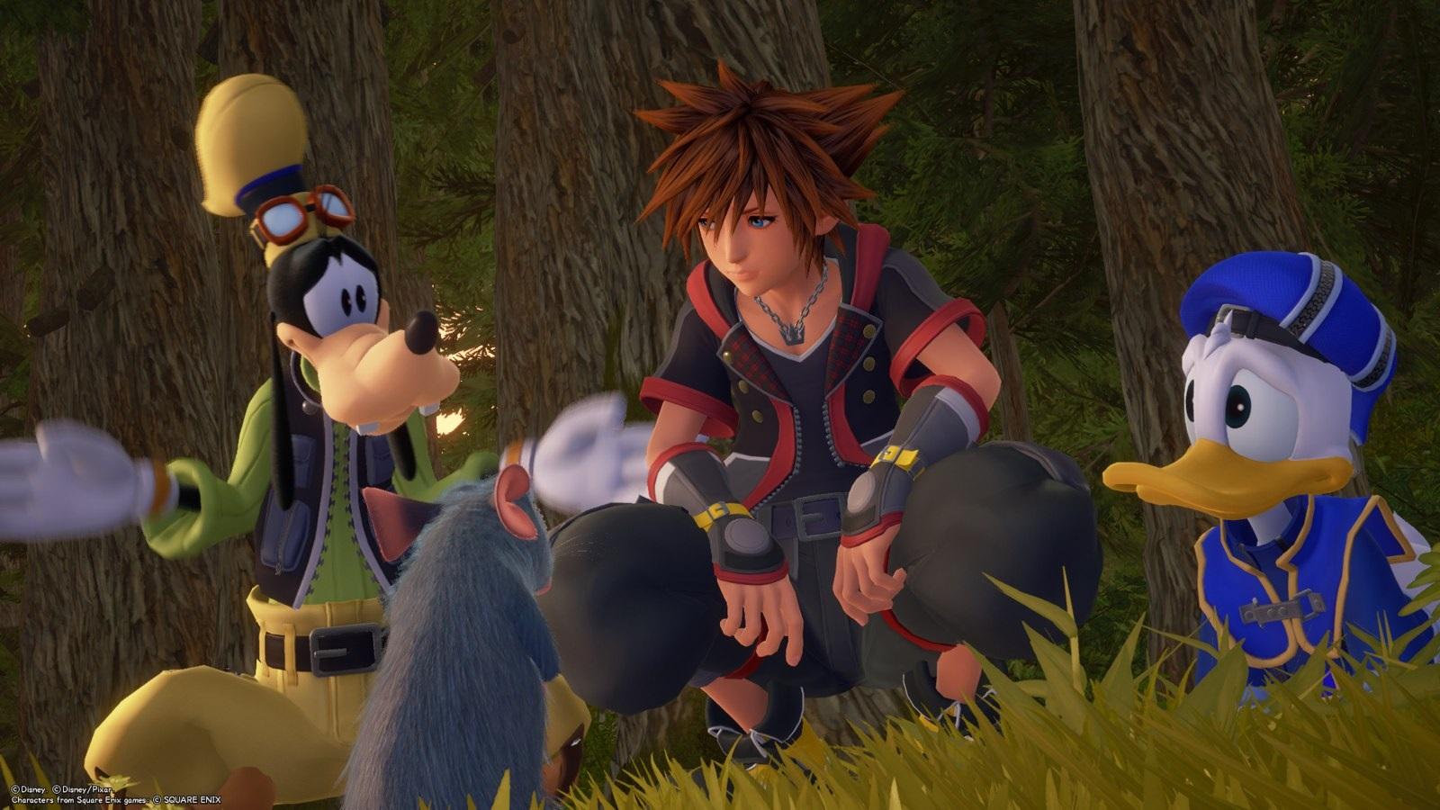 Kingdom Hearts 3; gameplay: Myšák
