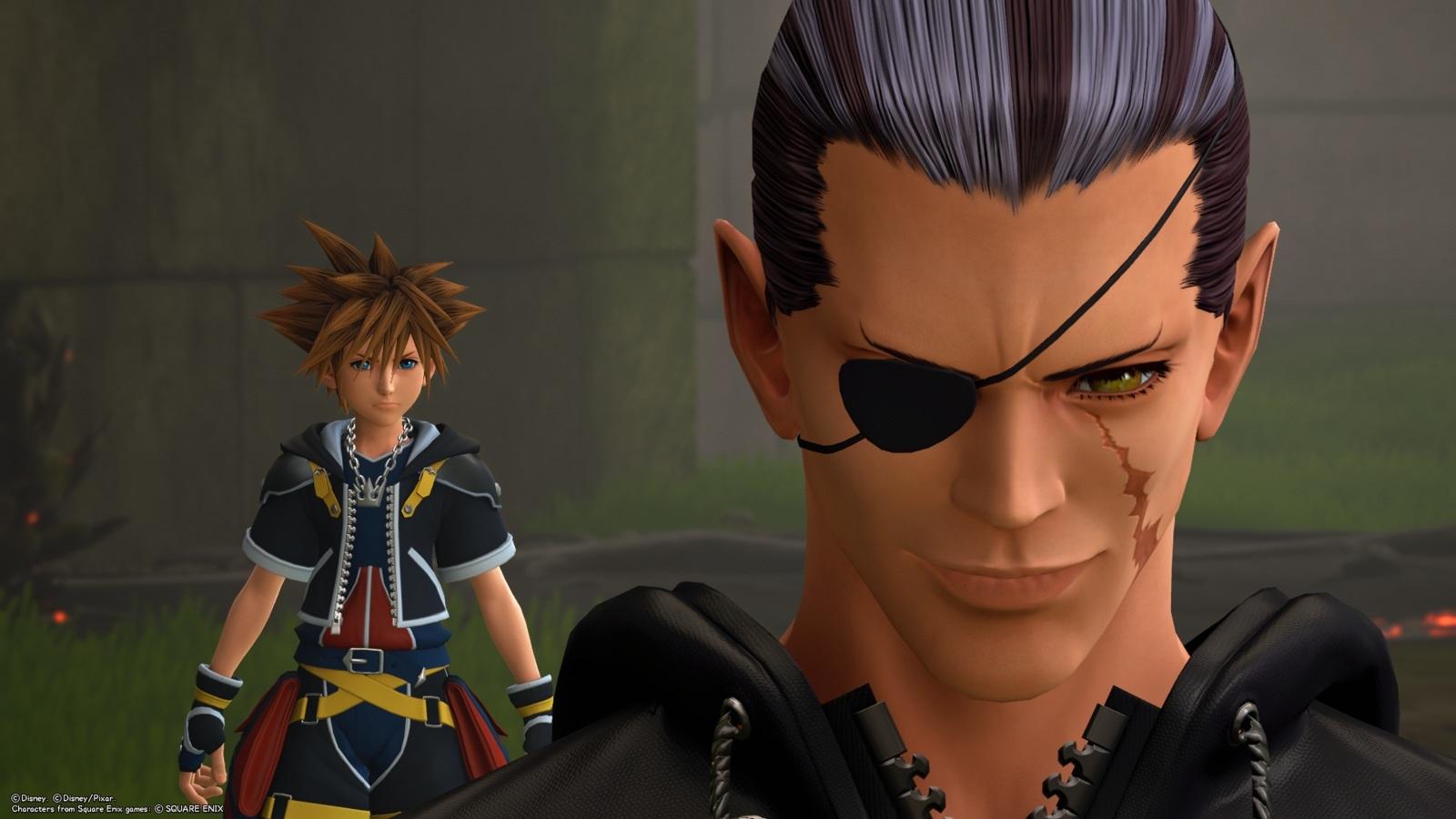 Kingdom Hearts 3; gameplay: osudovosť