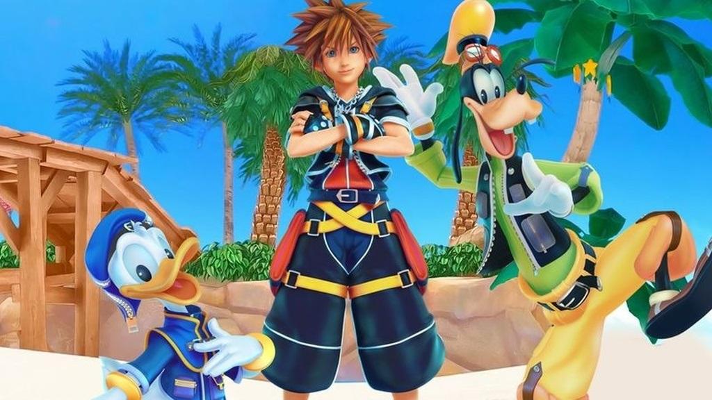 Kingdom Hearts 3; screenshot: trojica