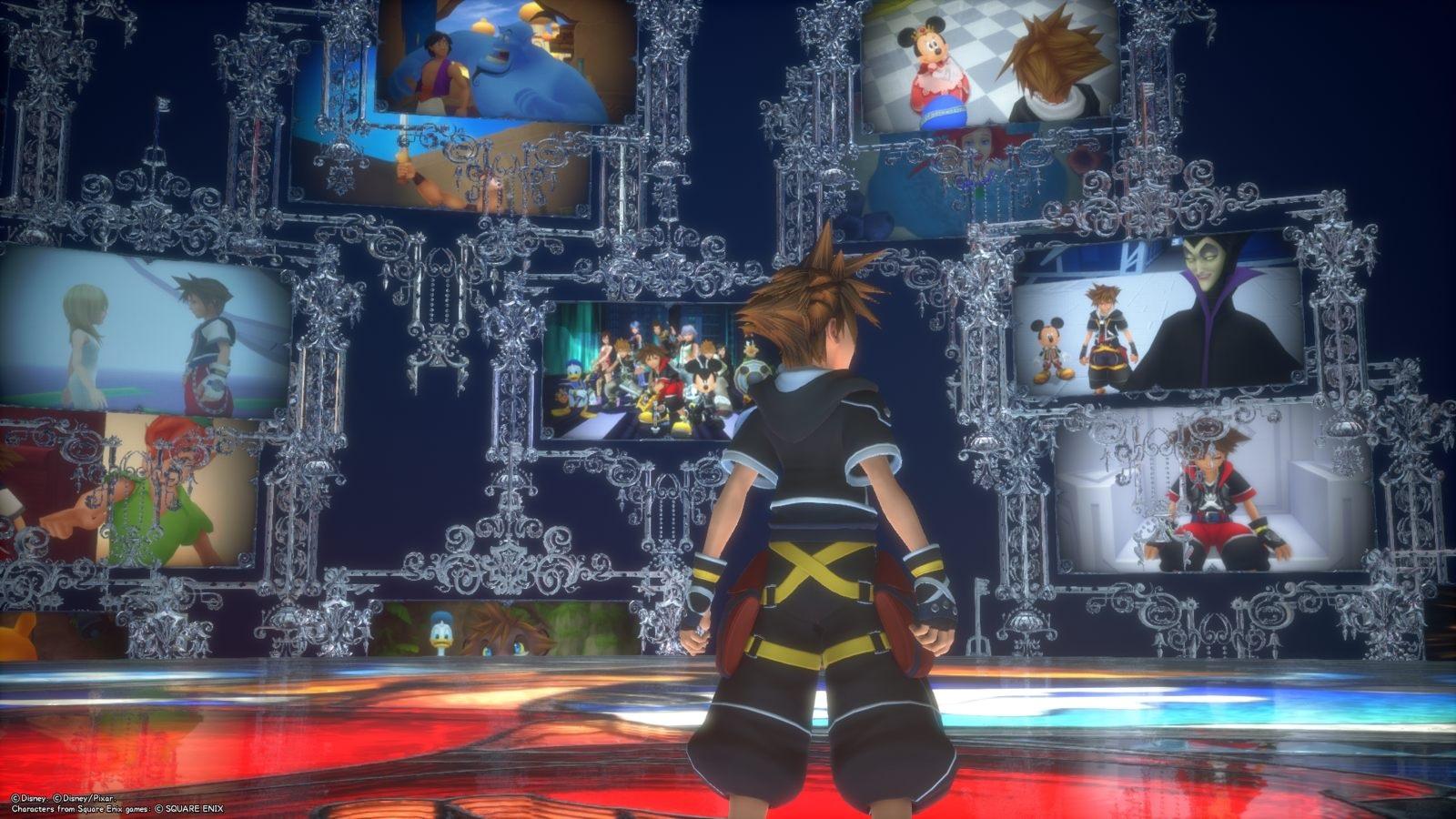 Kingdom Hearts 3; gameplay: spomienky