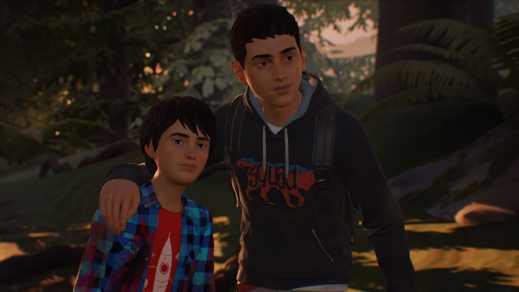Life is Strange 2; screenshot: bratia