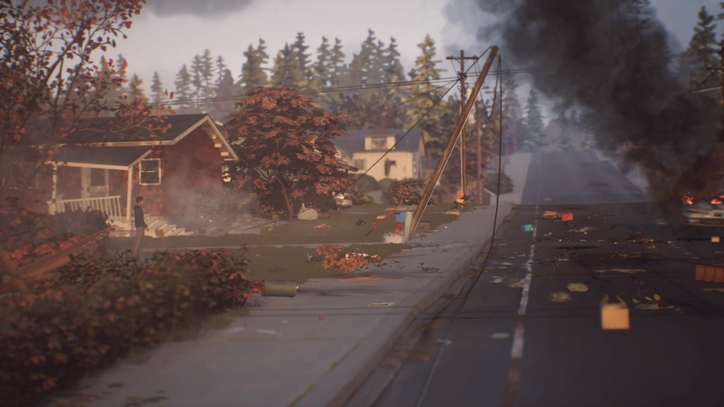 Life is Strange 2; gameplay: deštrukcia