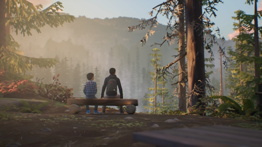 Life is Strange 2; gameplay: park